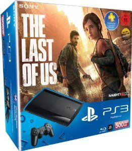 PlayStation 3 - Konsole Super Slim 500 GB (inkl. DualShock 3 Wireless Controller + The Last of Us): Amazon.de: Games