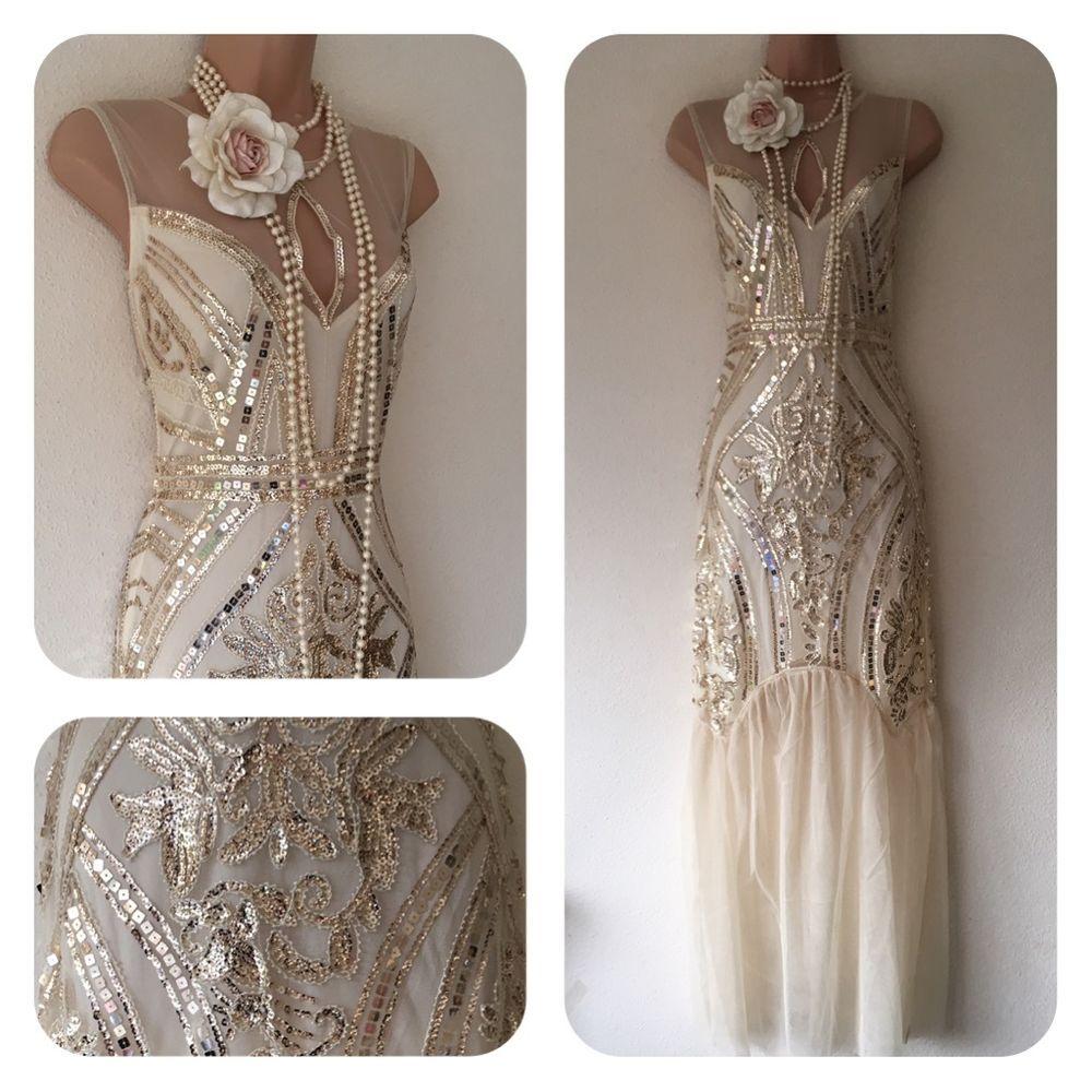Nwt Sequin Beaded Embellished Flapper 20 S Gatsby Prom Dress 8 10 12 14 Rrp 95 Silver Prom Dress Prom Dresses Gatsby Prom Dresses [ 1000 x 1000 Pixel ]