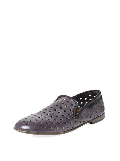 Perforated Slip-On Loafer by Dolce