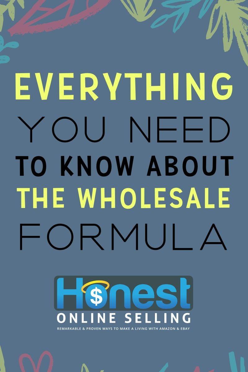 The Wholesale Formula Review Summary Page Make Money On Amazon
