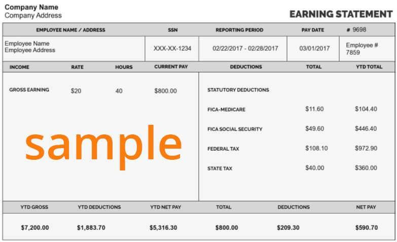 Make a paystubs by using free online pay stub maker It is also - paystub template free