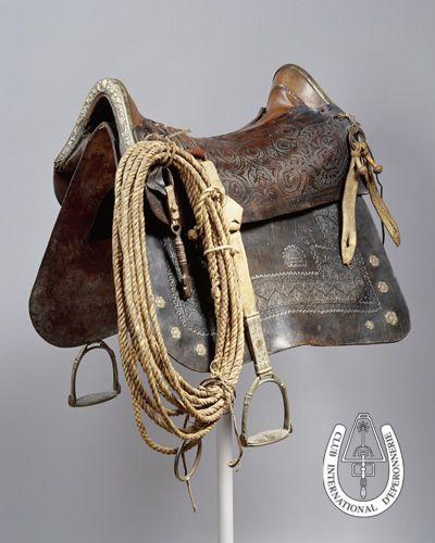 A 19th century Uruguayan saddle on the CIDE website ...