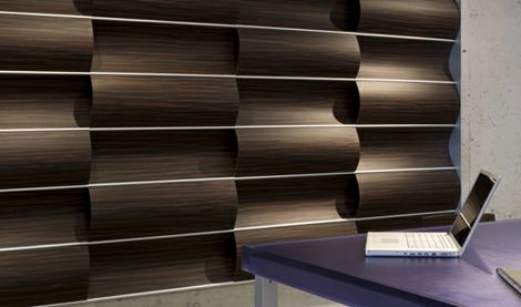 wall decoration for home office modern design wood panel - Wooden Wall Paneling Designs