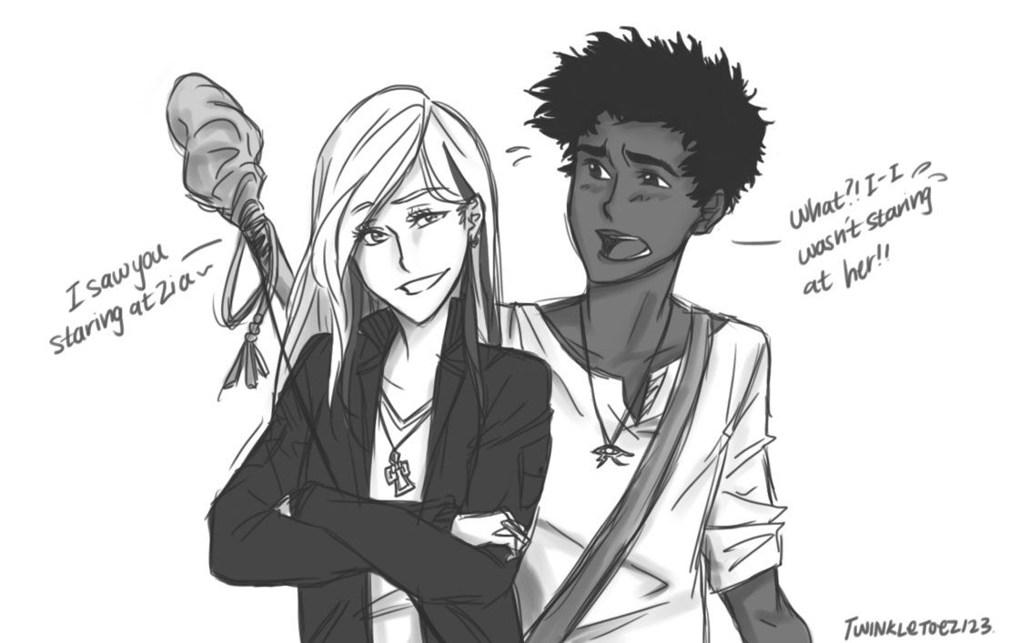 Carter and Sadie Kane by twinkletoez123 | Kane Chronicles ...