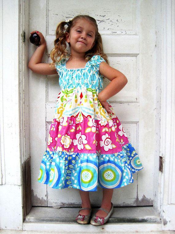 d4b076cd5 Tiered Twirly Dress