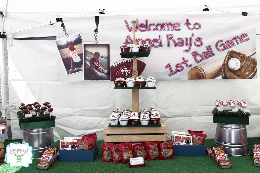 Baseball Birthday Party Ideas | Photo 7 of 23 | Catch My Party