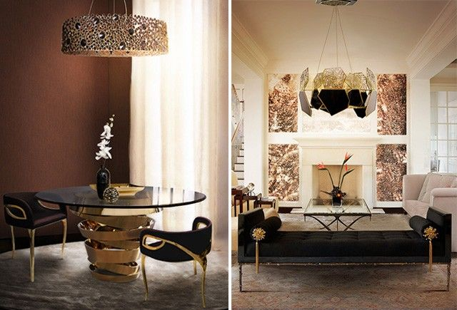Top 5 fashion inspired decorating trends for 2015 elle decoration decoration homeroom decorationscolor trendsdesign trendsdesign ideas2015