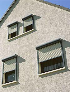 Toronto Roller Exterior Window Shutters, Exterior Roller Shutters ...