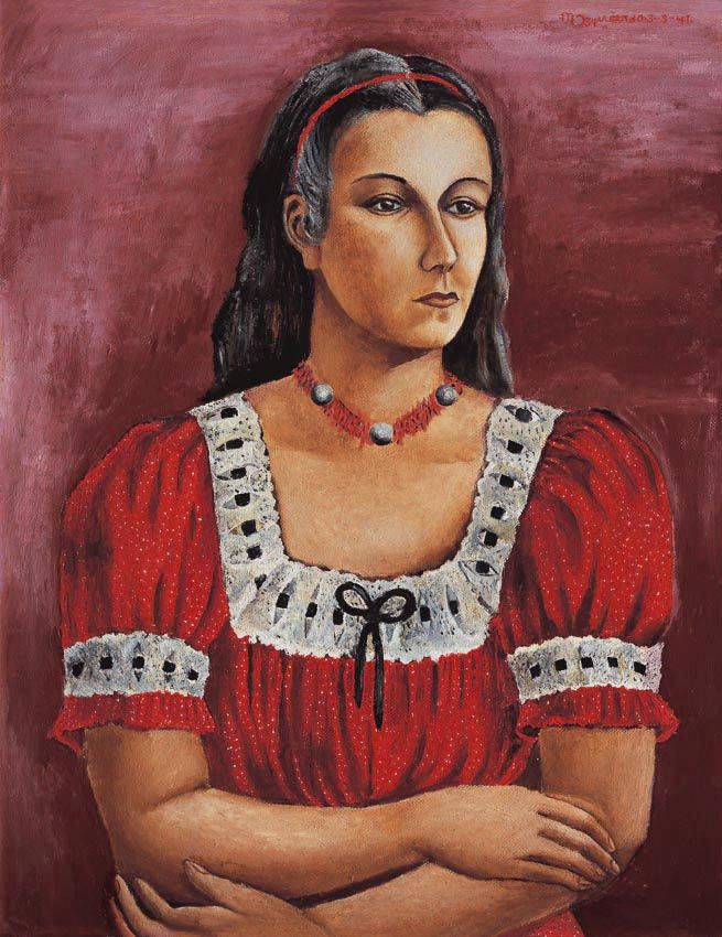Museo Blaisten - Retrato de María Asúnsulo de María Izquierdo