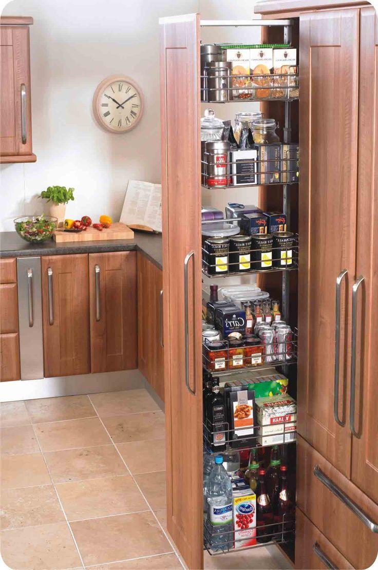 Herrajes sorano para cocinas y closet despensas torre - Alacenas modernas fotos ...