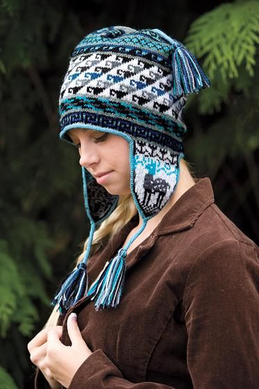 Andean Chullo Hat - Knitting Patterns and Crochet Patterns from ...