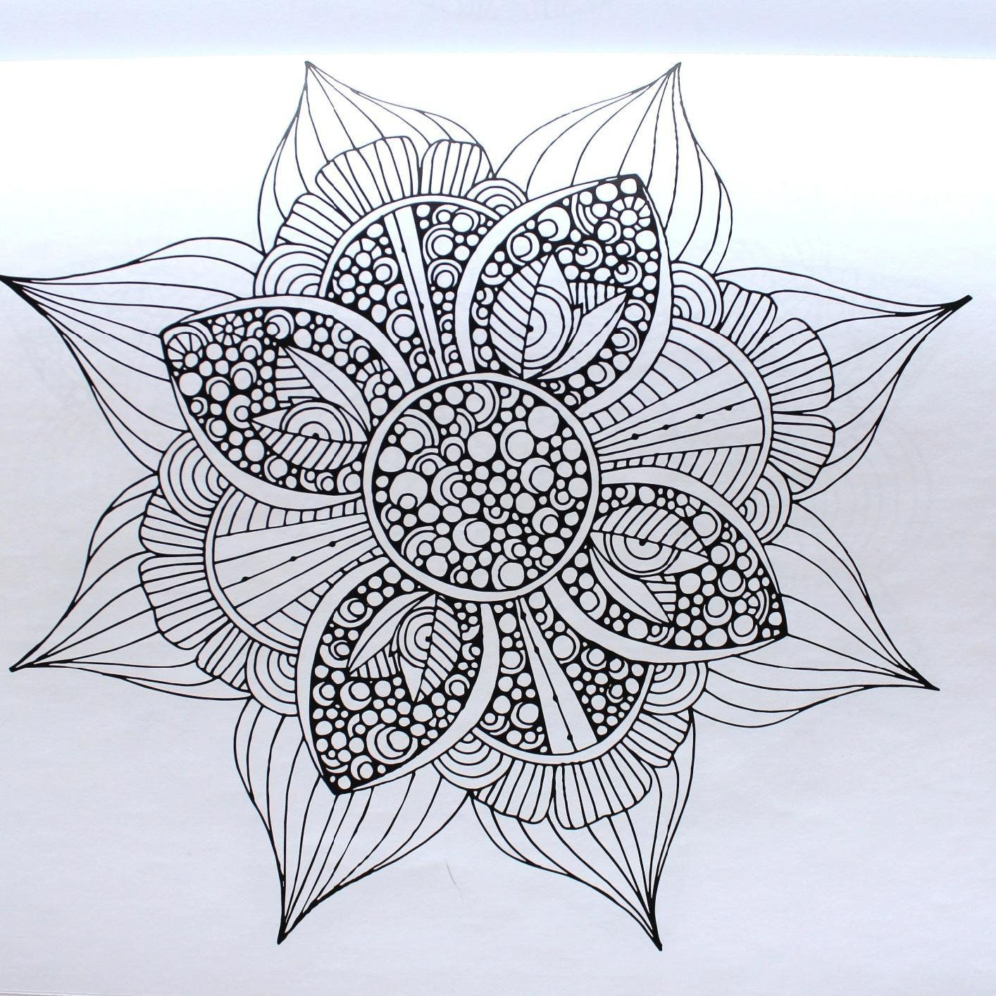 Creative Coloring Mandalas: Art Activity Pages to Relax ...