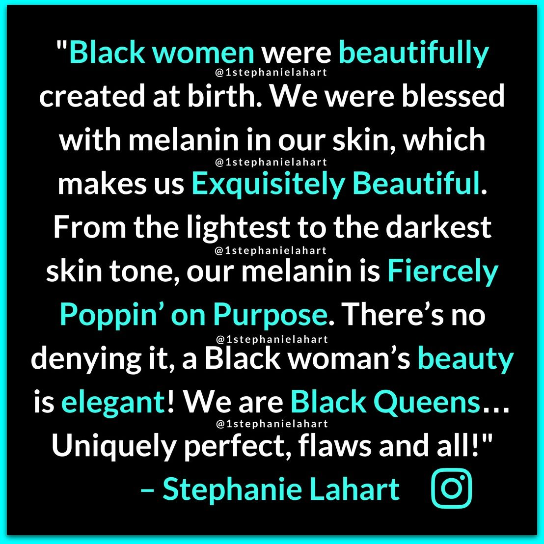 Inspiring Black Woman Beauty Quotes Black Queen A Quote That