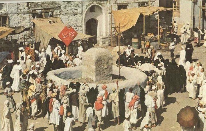 Rare photos of Hajj 1953 (Dengan gambar) | Seni islamis, Mekah ...