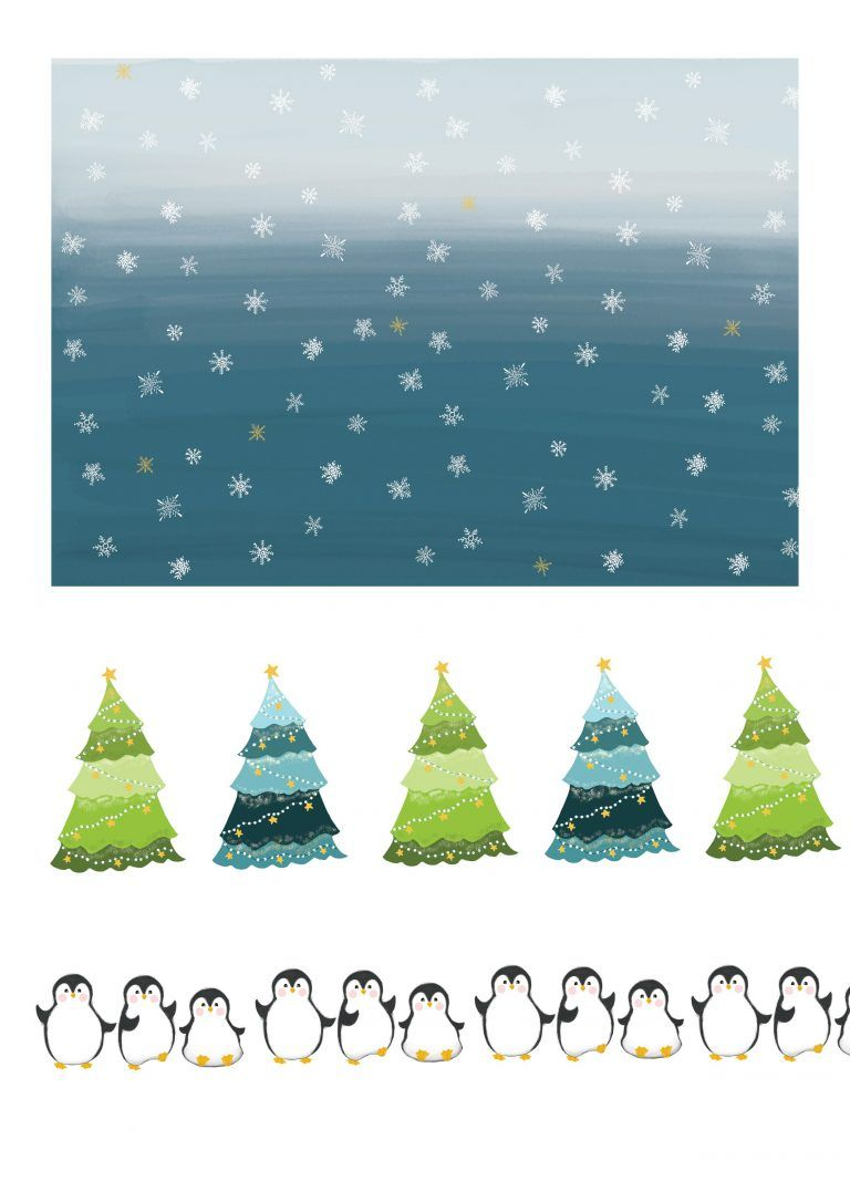 Free Christmas Penguin Cardmaking Printables Christmas Art Free Christmas Printables Diy Christmas Cards