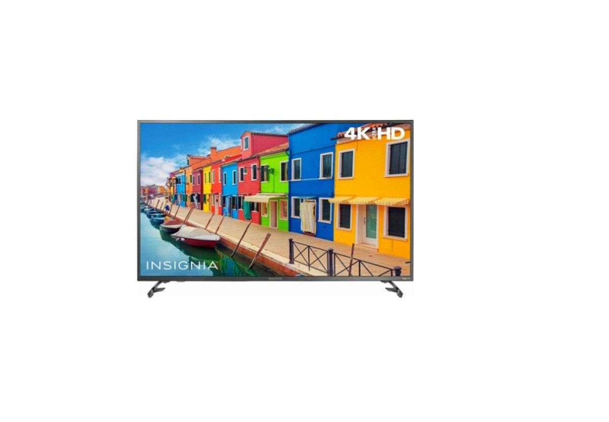 3a1c8de2855 Insignia 50 Class LED 2160p Smart 4K UHD TV with HDR Roku TV for  319.99 at
