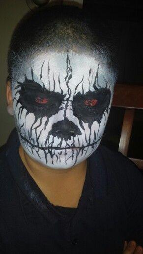 Scary Halloween Face painting ideas Pinterest - halloween face paint ideas scary