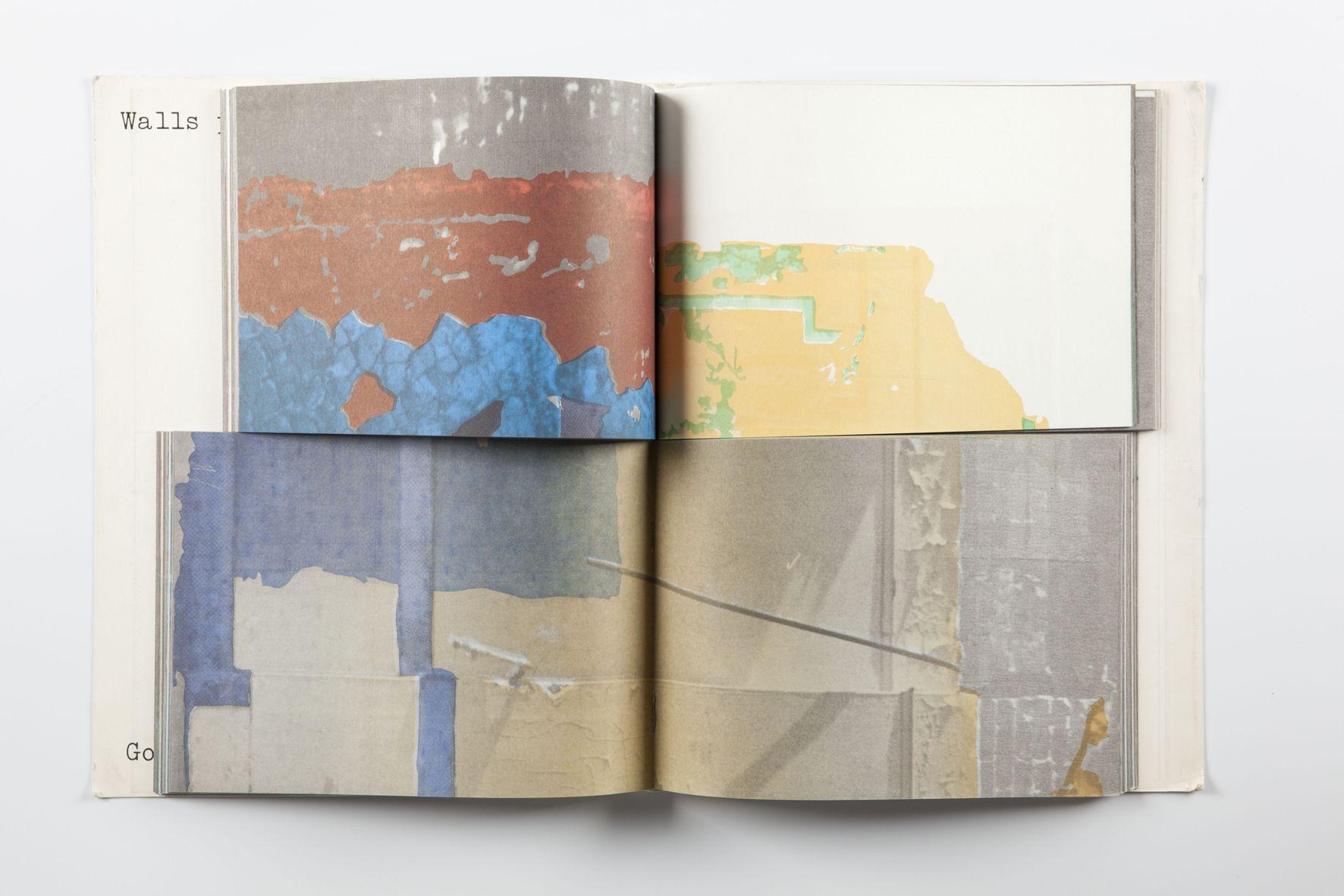 gordon matta-clark, walls paper (1973)