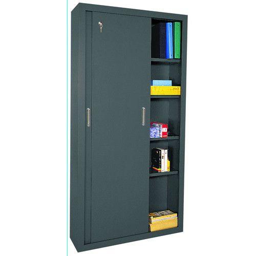 Sliding Door Storage Cabinets 5 Shelf Storage Cabinet Door Storage Storage Cabinet Shelves Storage Cabinet
