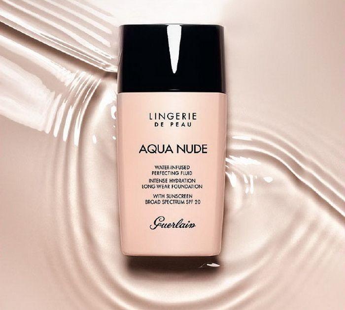Новый тональный флюид Guerlain Lingerie de Peau Aqua Nude