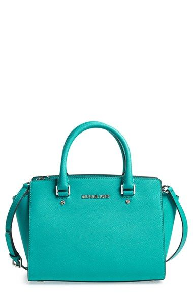 323d6334d2836f $178.80 MICHAEL Michael Kors 'Medium Selma' Zip-Top Satchel available at  #Nordstrom