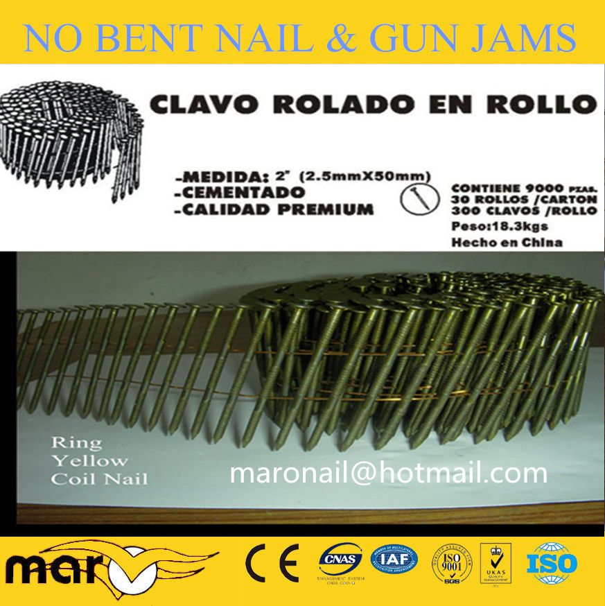 Coil Nails For Pallet Coil Pallet Roofing Nails