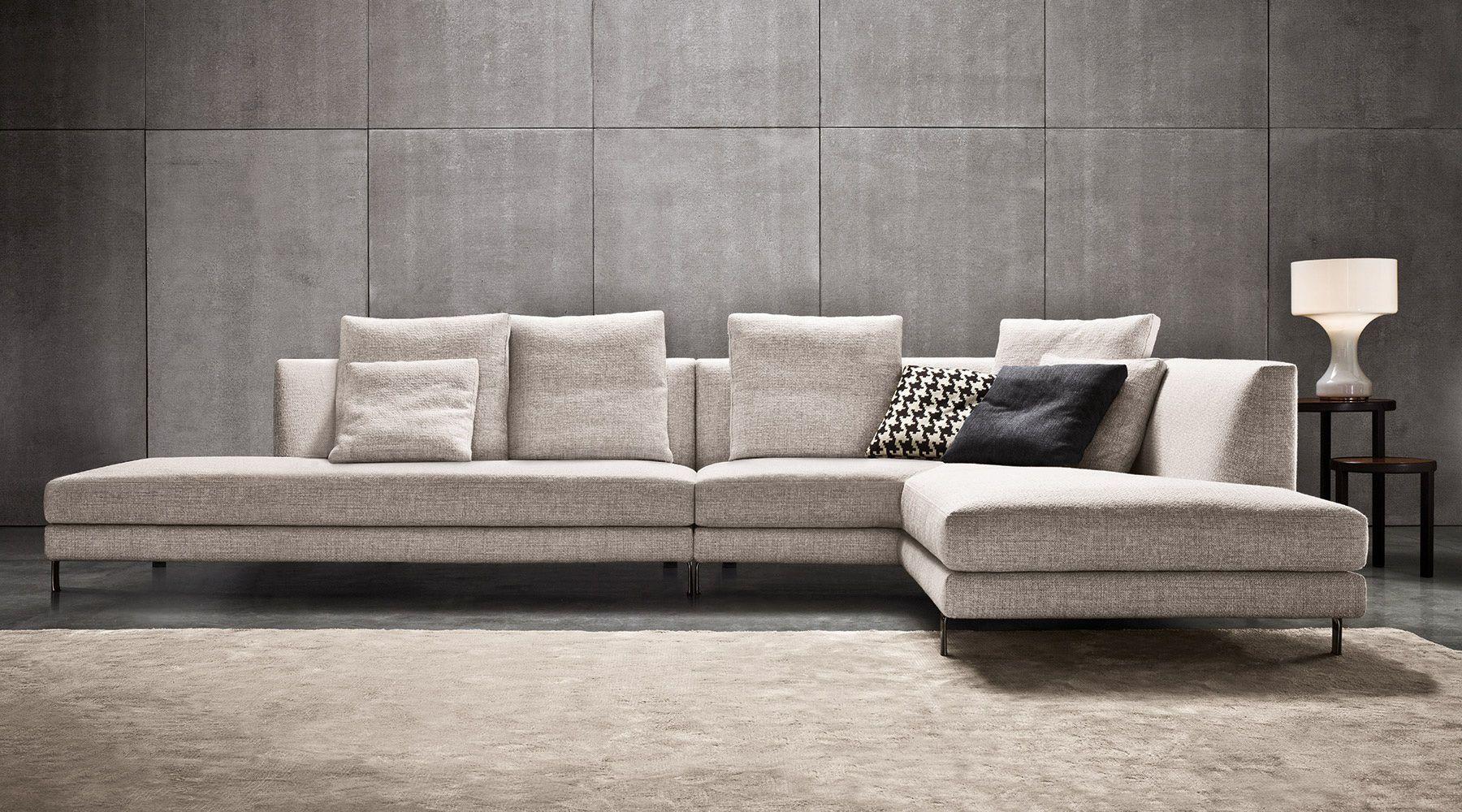SOFAS EN ALLEN Il divano Allen esprime perfettamente