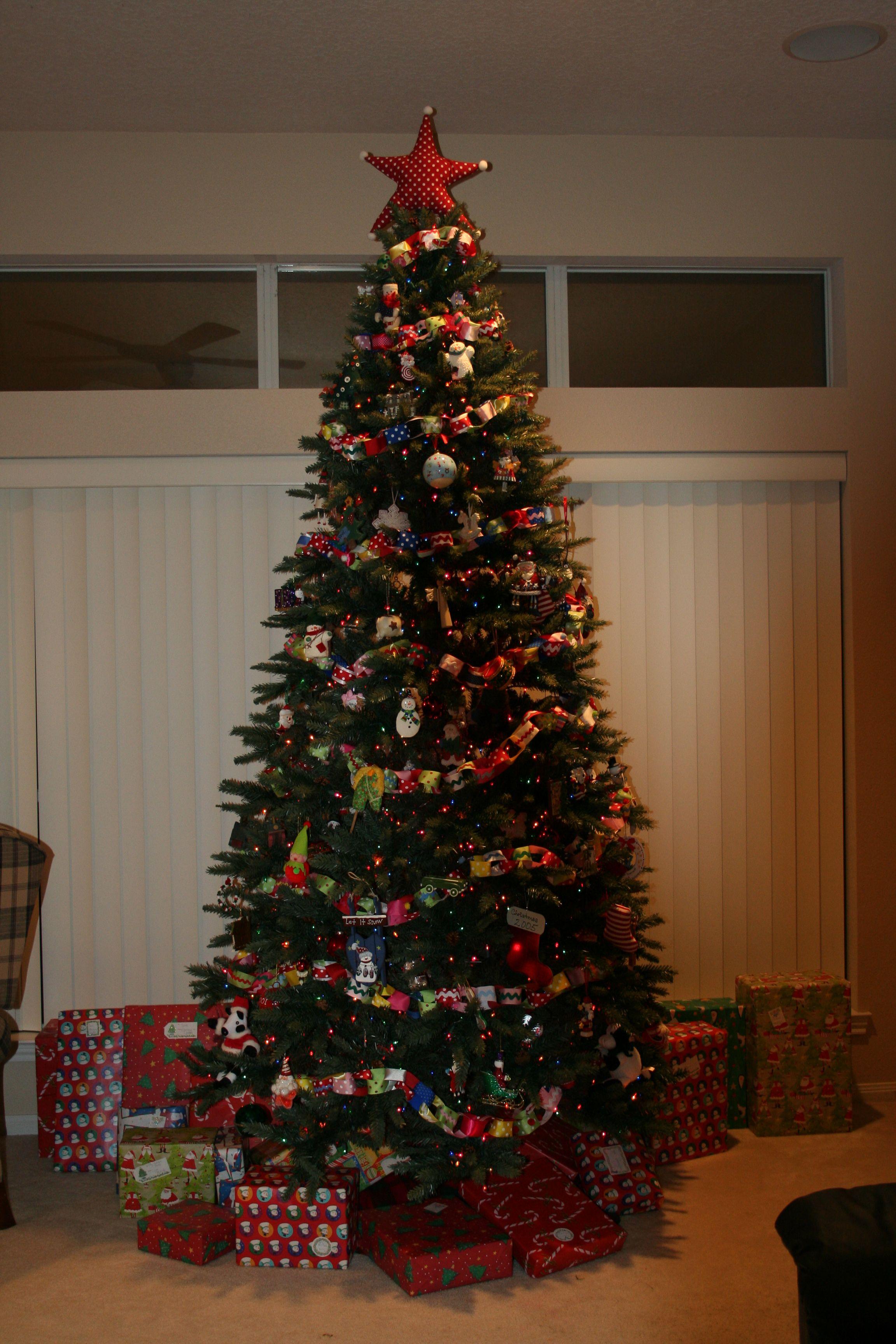 ribbon garland for christmas tree - Garland For Christmas Tree
