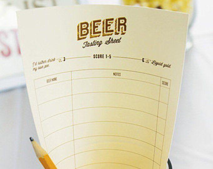 Photo of Oktoberfest Beer Tasting Party Printables