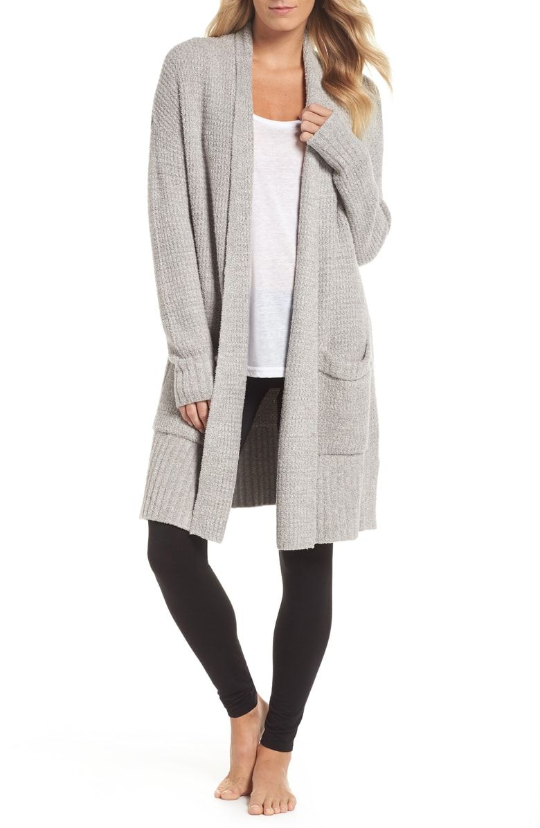 061d37eb8e60 Free shipping and returns on Barefoot Dreams® CozyChic™ Lite Long Weekend  Cardigan at Nordstrom.com. A lightweight and cozy knit enriches the comfort  of a ...