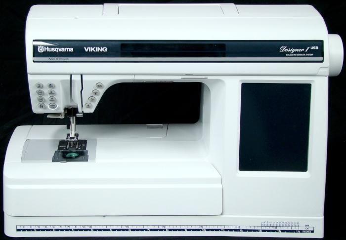 Details About Husqvarna Viking Designer 1 Usb W Embroidery Unit