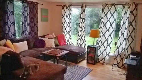 Boho Style Living Room I Love The Mismatched Curtains They Adds So Much Character To The Room Boho Style Living Rooms Master Decor Home Decor