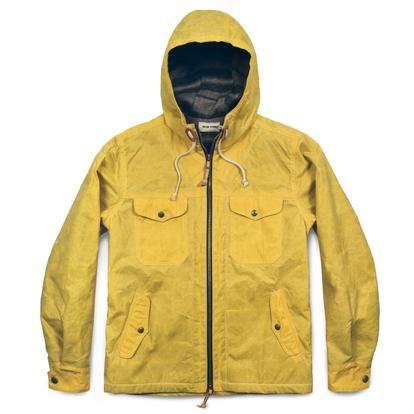 366d75b3f23 The Winslow Parka in Mustard | Man Fashion | Taylor stitch, Parka ...