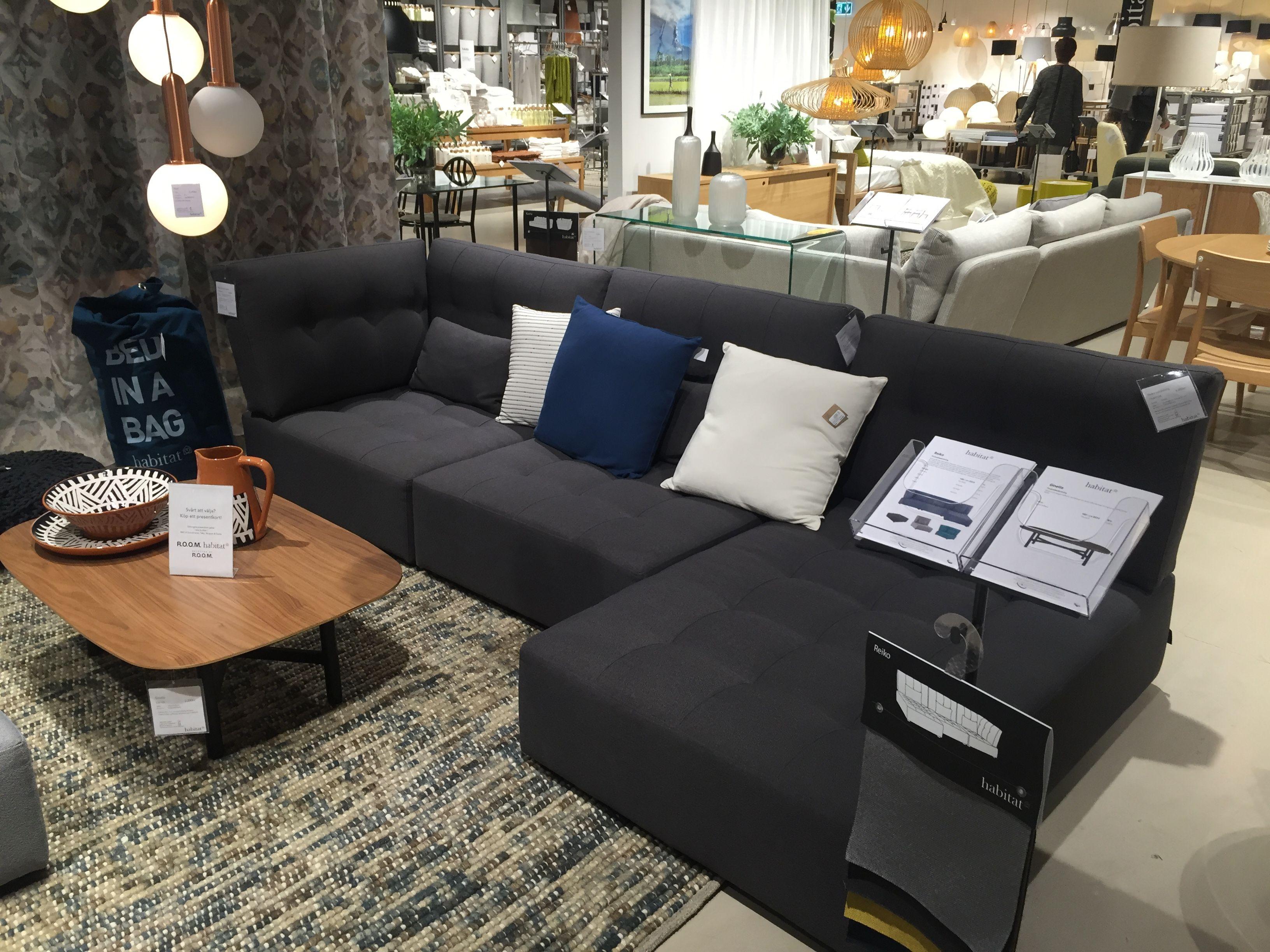 Reiko Modulsoffa Fran Habitat Till Tv Rum Deco Maison Table Basse Maison