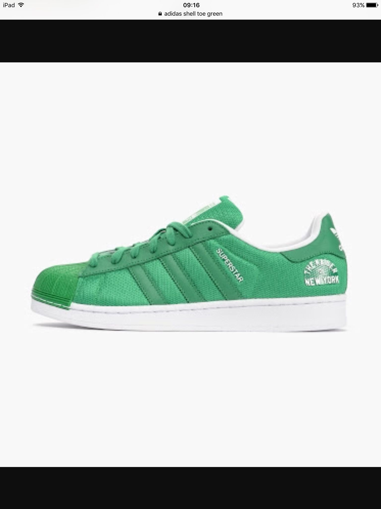 Green Adidas superstar shell toe sneakers | Adidas, Zapas y