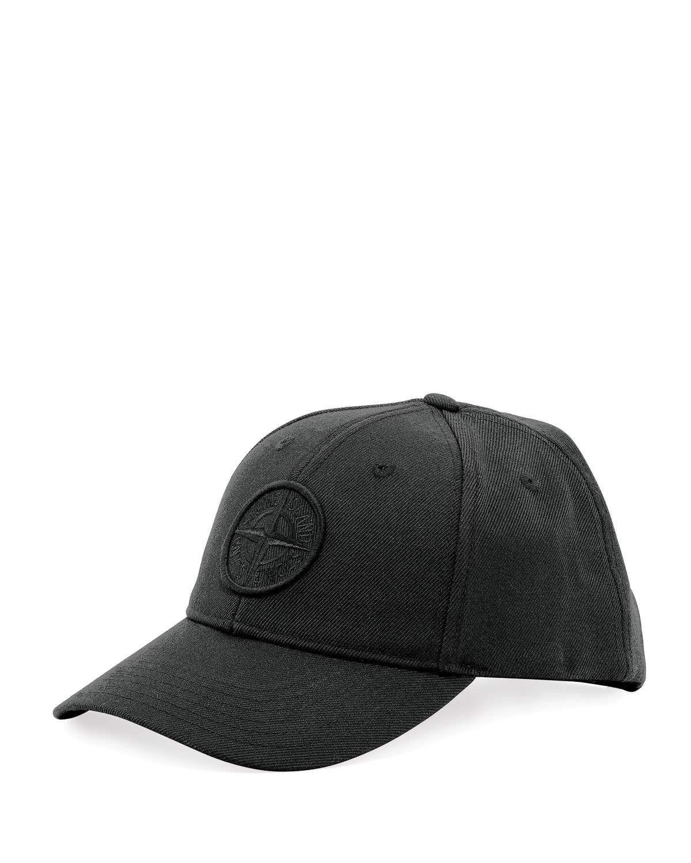 Stone Island Men s Logo Twill Baseball Cap 793f1862a776
