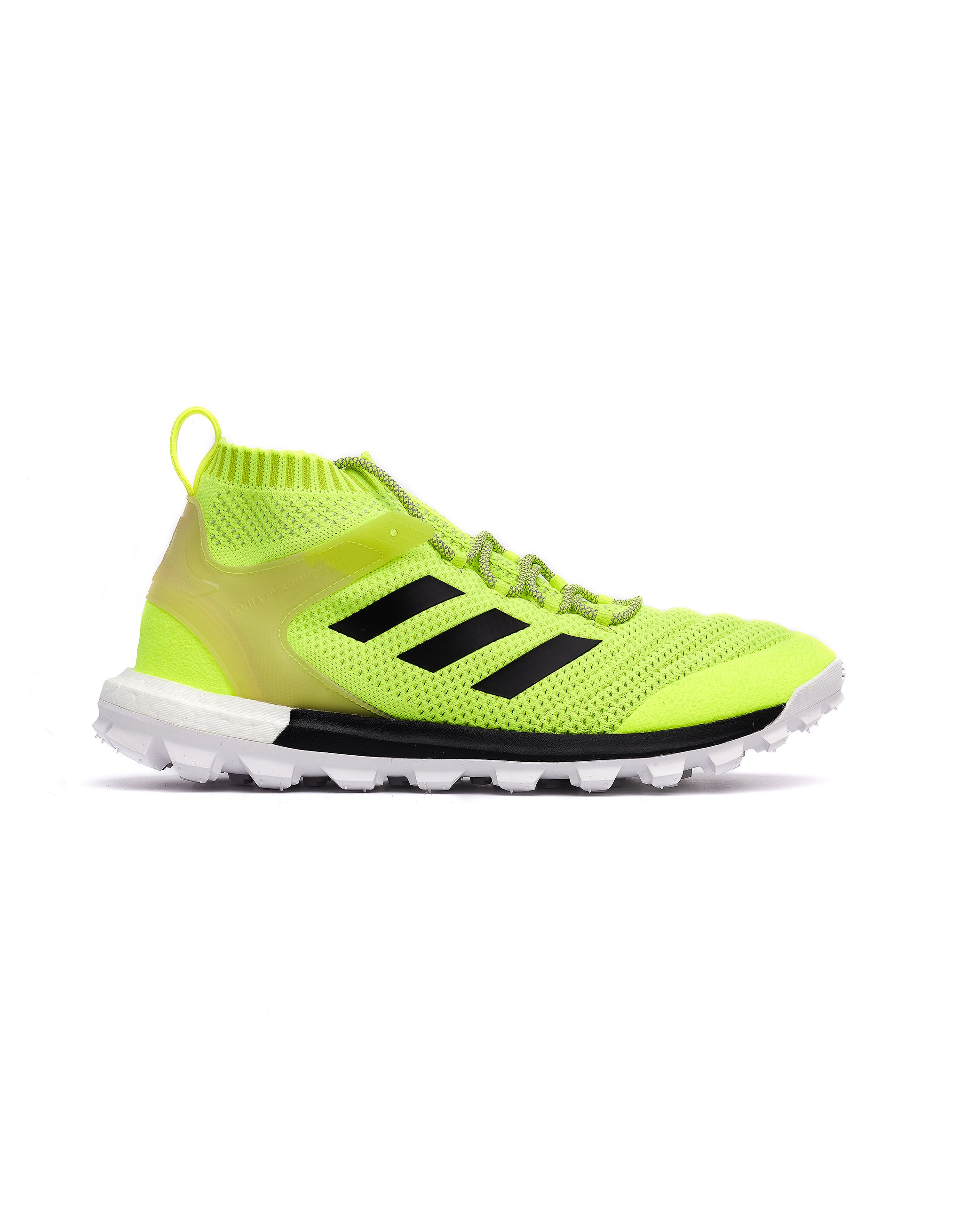 Gosha Rubchinskiy Neon Green Copa Mid Sneakers | Sneakers