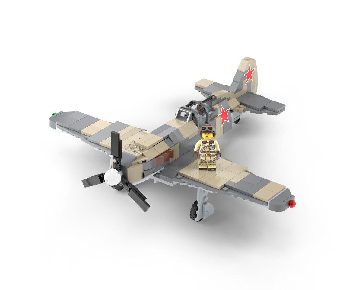 Mig 3 Wwii Russian Fighter Interceptor Russian Fighter Lego Soldiers Interceptor