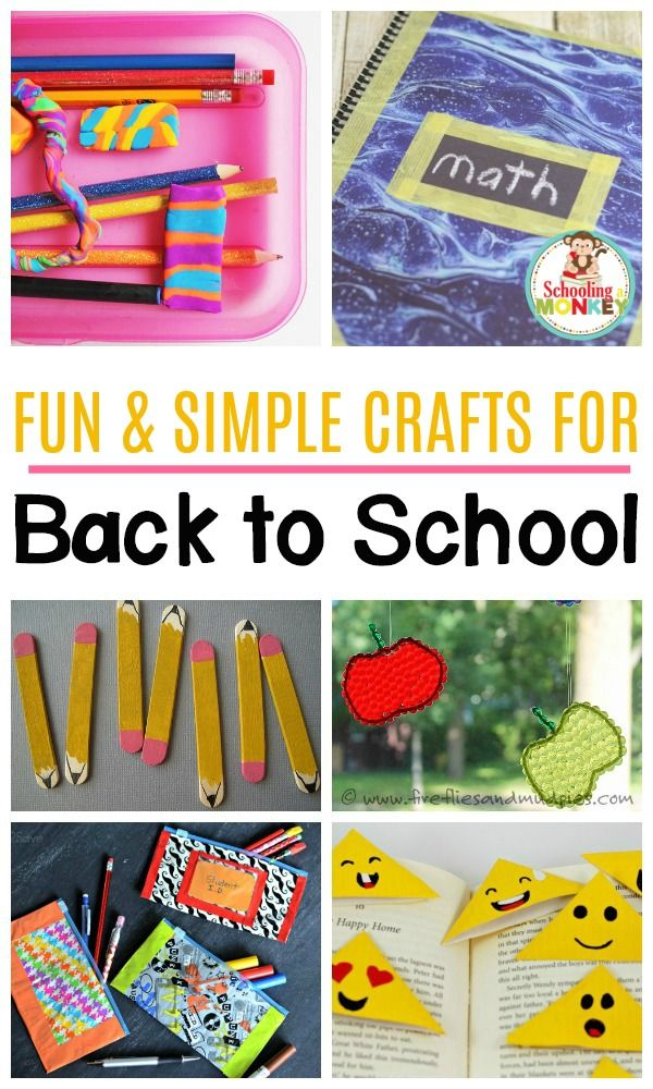 Can T Miss Back To School Crafts That Will Delight Your Kids With
