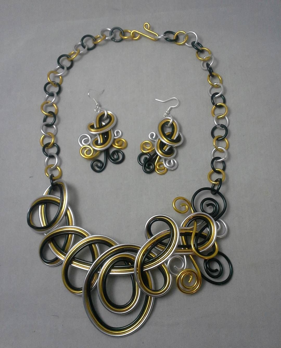 Unique hand crafted jewelry. I will list it for you on Etsy, or DM ...