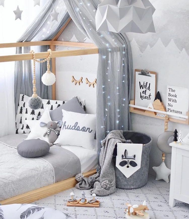 ein traum in grau kinderzimmer pinterest kinderzimmer kinder zimmer und kinderzimmer ideen. Black Bedroom Furniture Sets. Home Design Ideas
