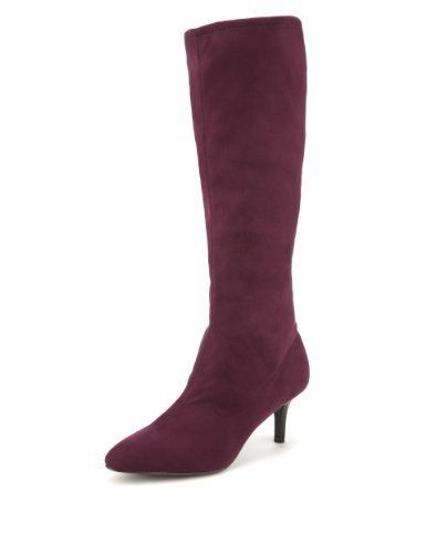 290b6960ab811 M&S Collection Pointed Toe Stretch Long Boots with Insolia® - Marks &  Spencer