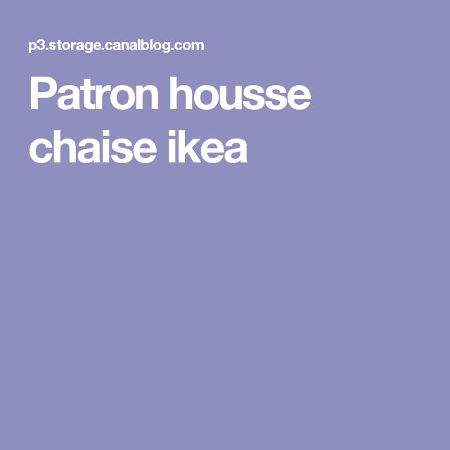 site réputé b50a7 1f6f4 Patron housse chaise ikea | couture | Housse de chaise ...