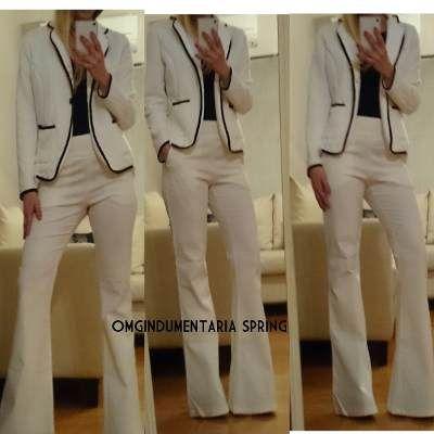 Pantalon Oxford Mujer Tiro Alto Elastizado Gabardina Jeans -   650 ... 79daaac8beeb