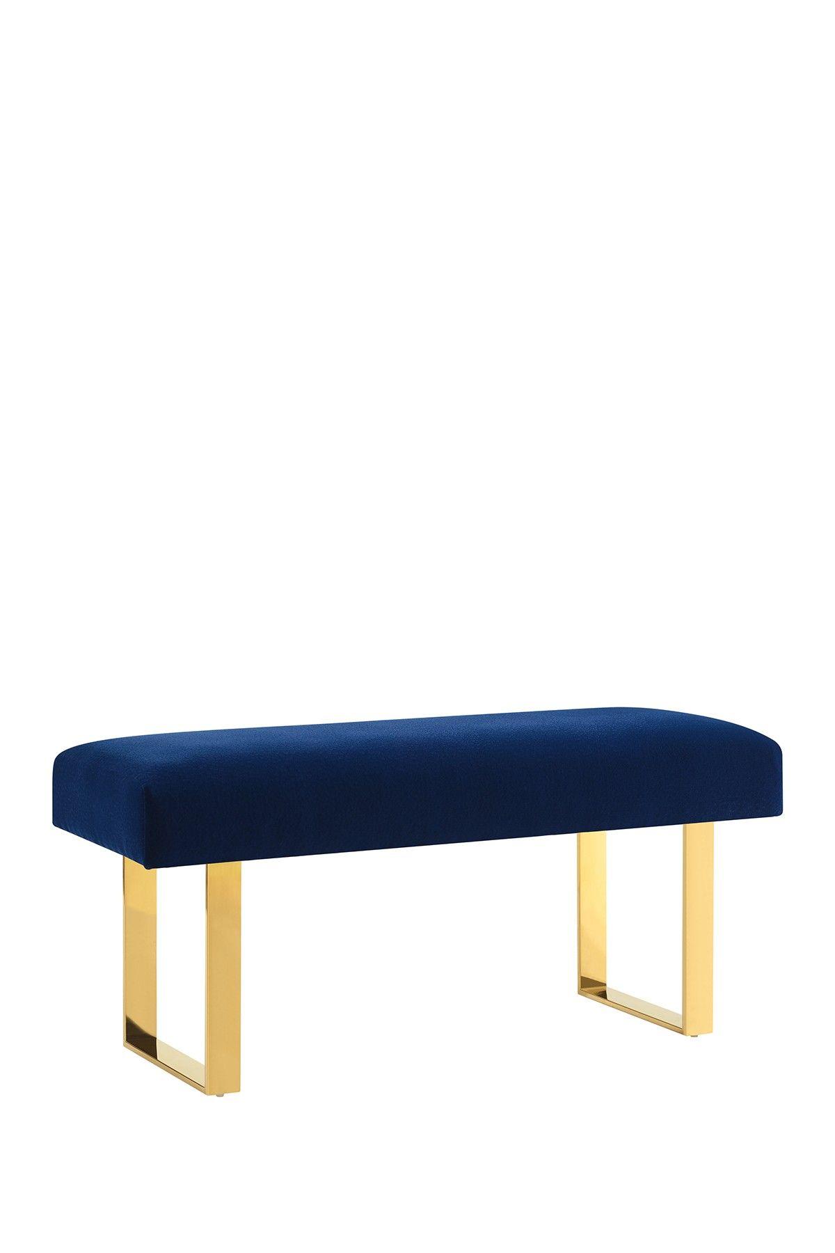 Alexis Velvet Bench By TOV Furniture On @HauteLook