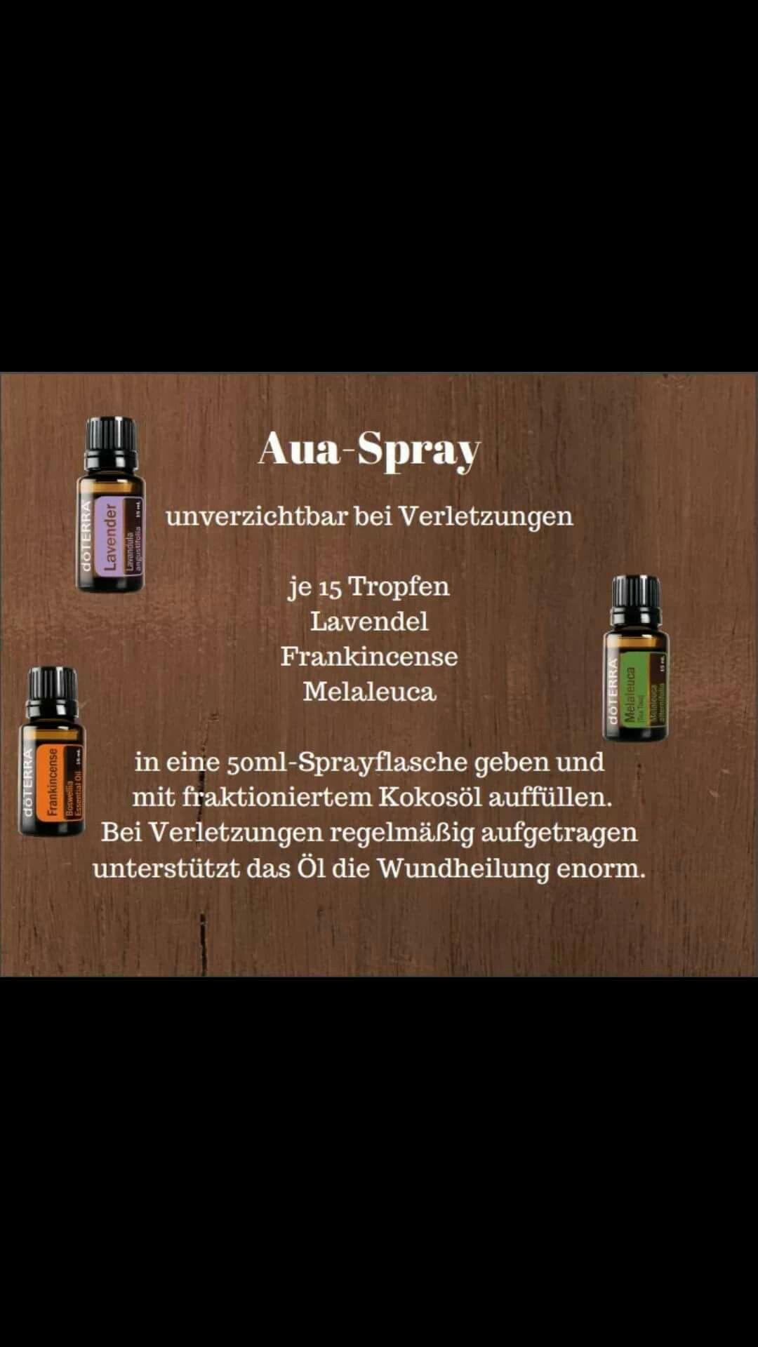 Aua Spray Doterra Hilft Wahre Wunder Bei Kleinen Und Grosseren