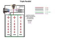 motley mods box mod wiring diagrams led button switch parallel rh pinterest co uk DIY Box Mod Wiring-Diagram Raptor 120 Box Mod Wiring-Diagram