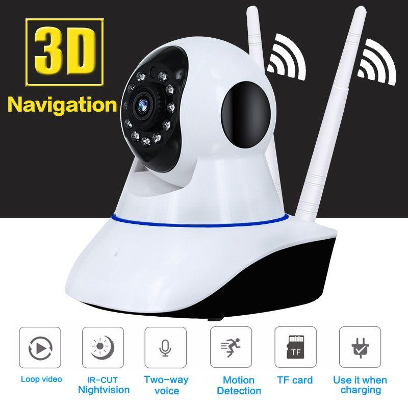 2MP HD 1080P AHD Camera Security 360 Degree Fisheye Panoramic IR Night View