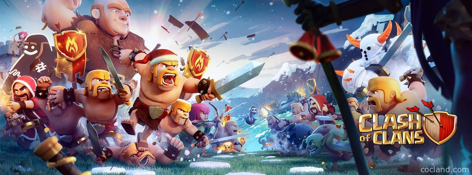 Clash Of Clans Wallpaper Free Large Images Game Clash Of Clans