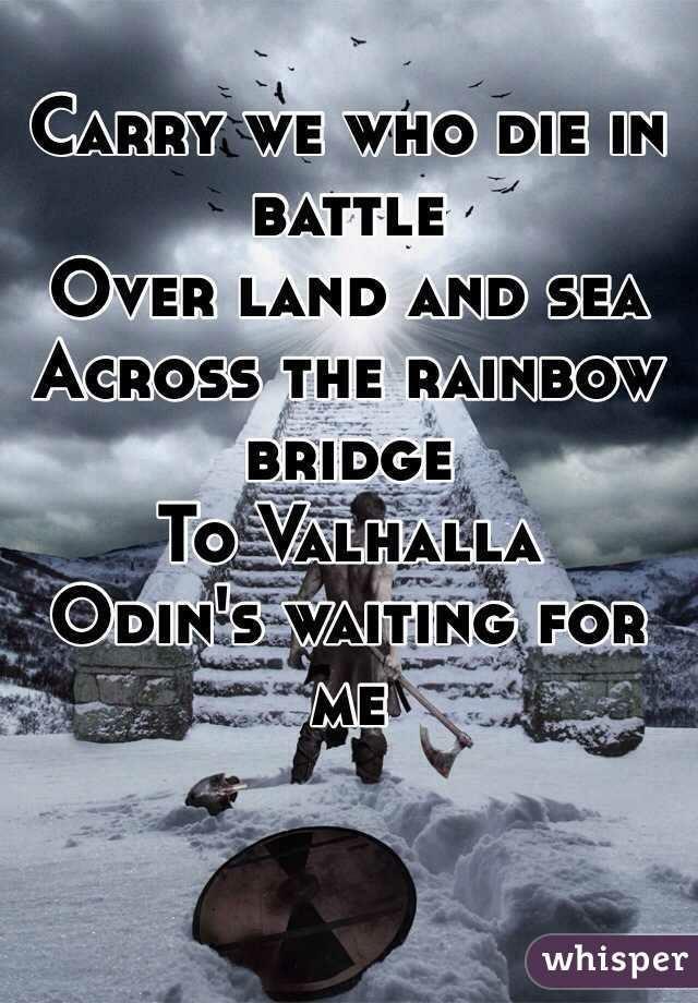 Valhalla Odin Norsemythology Vikingos Mitología Y Thing 1